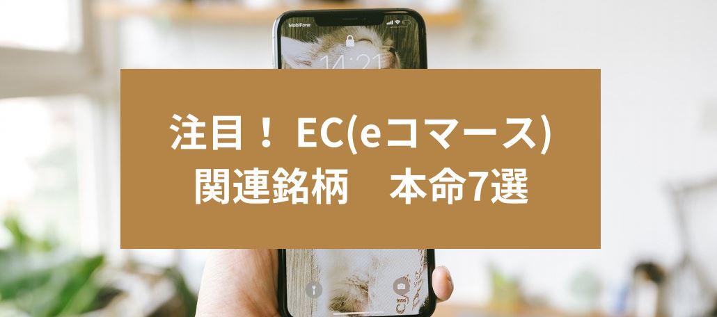 注目! EC(eコマース)関連銘柄 本命7選 サムネイル