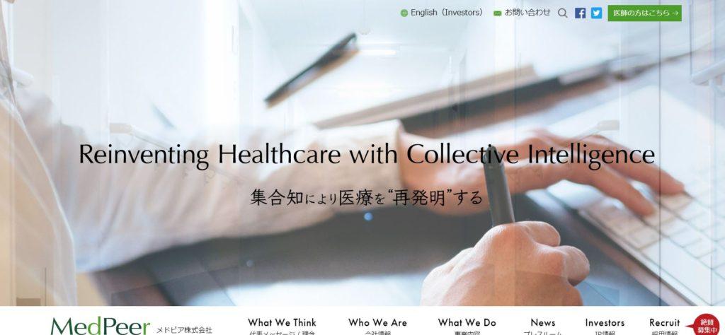 企業分析-メドピア株式会社(6095) 画像1