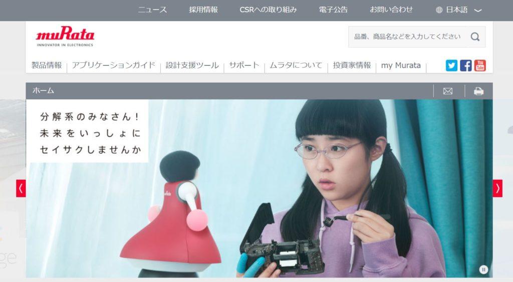 企業分析-株式会社村田製作所(6981) 画像1