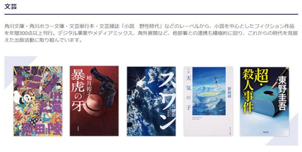 企業分析-株式会社KADOKAWA(9468) 画像2