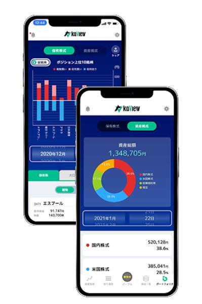 個人投資家の投資管理ツール「カビュウ」 画像2
