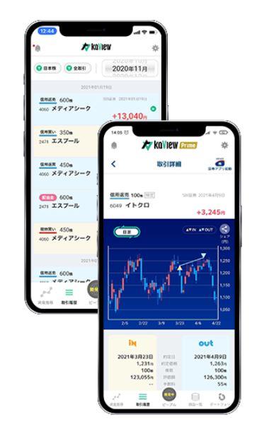 個人投資家の投資管理ツール「カビュウ」 画像3