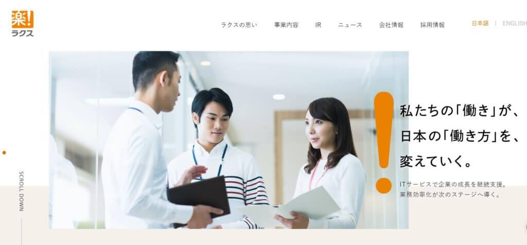 企業分析-株式会社ラクス(3923) 画像1